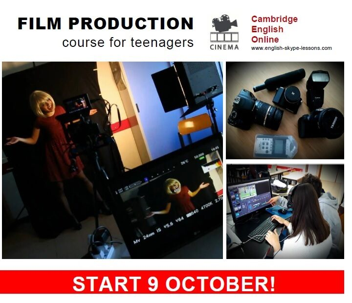 Film Production for teenagers
